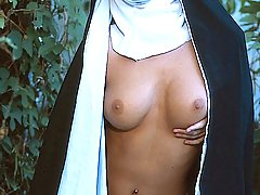 Fetish Pictures -  FetishNetwork.com - Naughty nun Jana kicks her habit