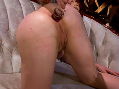 Ass Play Pictures -  Sat Bonus: Anal Audition: Kylie Ireland, not that this anal whore needs to audition butt....