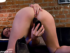 Ass Play Pictures -  Anal Auditions 1: Please be my first anal experience...