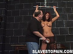 Slaves Pictures -  Three beautiful babes in pussy torment scenes