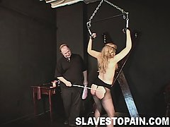 Punishment Pictures -  Sexy Ariel gets chained and pinched