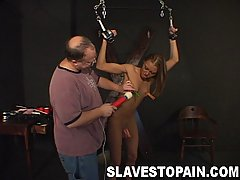 Pain Pictures -  Girl next door ANgie gets locked up and gets her pussy teased and tickled