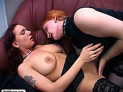 Pain Pictures -  Two sexy babes act out their lusty kinks with each others smooth tender flesh