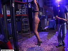 Punishment Pictures -  Kinky sub suffers through her masters overbearing torment and desire