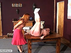 Spanking Pictures -  Innocent CC gets disciplined by Mistress Gemini