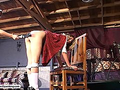 Spanking Pictures -  Gemini executes another sadistic spanking session