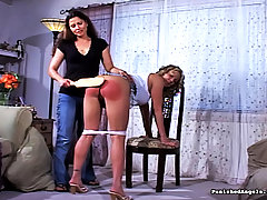 Spanking Pictures -  Neighbors get naughty with each other
