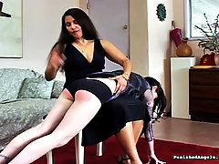 Spanking Pictures -  Teen Slut gets her ass spanked for being naughty