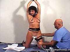 Slaves Pictures -  Lesbian forced orgasm