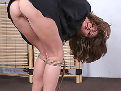 Slaves Pictures -  Helen wears a shirt and some rope