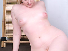 Slaves Pictures -  Girl with hairy muff gets bound