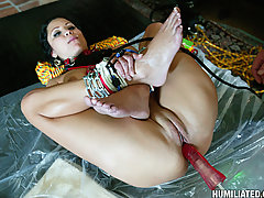 Mature Pictures -  Sophie Lomeli told to shut the fuck up and fucked hard!