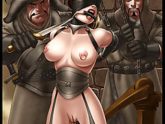 BDSM Art Pictures -  World Class Art. Slavegirls captured, trained and kept in harems for the pleasure of their owners.