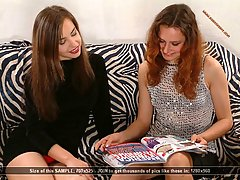 Wrestling Pictures -  Gorgeous fashion models fight over magazine