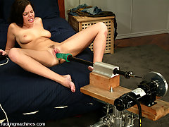 BDSM Toys Pictures -  Brooke gets fucked hard in the Crystal Palace!