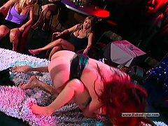 Wrestling Pictures -  Drunk naked lesbian brutality
