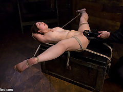 Punishment Pictures -  Amateur Casting Couch: Moriel; BDSM club girl