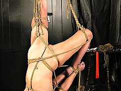 Amateurs Pictures -  Lew\'s delicious slave endures whipping torment from her harsh Master