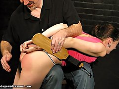 Amateurs Pictures -  Madison returns to the classics with an old school spanking scene
