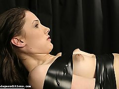 Amateurs Pictures -  MAdison gets her clothes ripped off her and bound in thick bondage tape