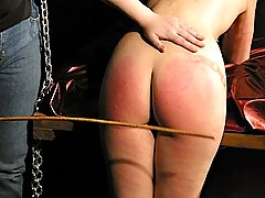 Amateurs Pictures -  Ms Bridgett turns Cherry red with pain