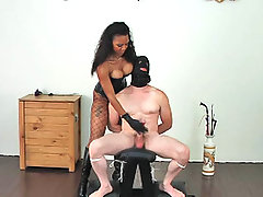Black Pictures -  Ebony Femdom Goddess Sonya teases and slaps and beats her slaves precious cock