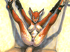 Cartoons Pictures -  furry bdsm