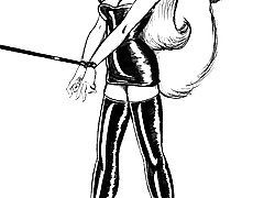 BDSM Art Pictures -  furry bdsm