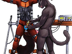 BDSM Art Pictures -  furry bdsm pics