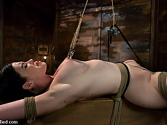 Punishment Pictures -  For some, pain induces discomfort, for Sybil it induces orgasms...
