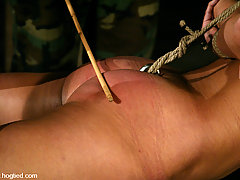 Punishment Pictures -  Sgt Major brings out the animal in Gia Jordan