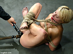 Punishment Pictures -  Feisty Vendetta forced to cum.