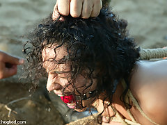 Punishment Pictures -  Jenya is in for the training of her life in Cabo, the Return Pt 4