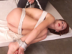 Punishment Pictures -  Ivy suspended in a variety of ways.