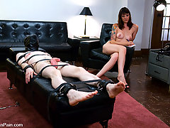 Femdom Pictures -  kade gets fucked by the good doctor