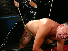 Femdom Pictures -  Sandra Romain dominates slave boy