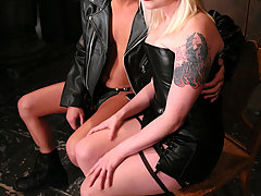 Femdom Pictures -  Mistress Lorelei Lee gets a fuck toy