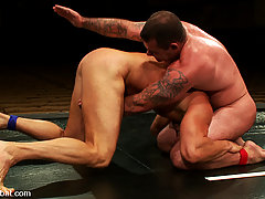 Gay Pictures -  It's the battle of the tough naked men for sexual domination - Dak Ramsey vs Mitch Colby.