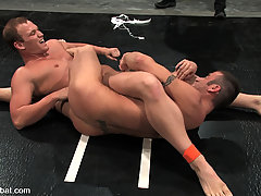 Gay Pictures -  Spencer Reed fights and fucks two young studs.