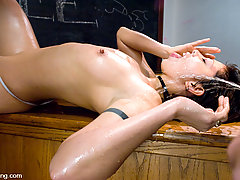 Watersports Pictures -  Satine Phoenix golden shower pee play hot piss drinking, blow job