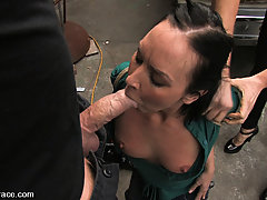 BDSM Pictures -  Julie Night - Fucked in the Junkyard