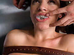 Couples Pictures -  Dana's dental visit gets her mouth and ass fucked!