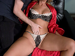 Couples Pictures -  Hot MILF fucked in bondage by daughter's boyfriend!