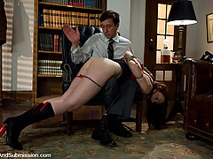 Couples Pictures -  Sexy domestic servant ass fucked in bondage!