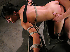 Submission Pictures -  18 year old girl gets tied up and fucked by a man.