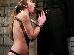Couples Pictures -  Jade Marx in bondage, domination and interracial sex