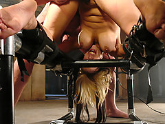Submission Pictures -  Sexy Gia Paloma endures bondage and sexual submission.