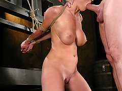 Couples Pictures -  Devon Lee is introduced to BDSM as she has sex with her master.