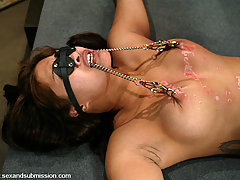 Couples Pictures -  DragonLily submits to bondage and gets fucked by Mark Davis.
