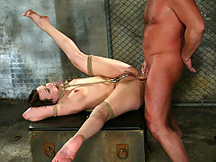 Couples Pictures -  Dana DeArmond loves pain and bondage as she gets ass fucked.